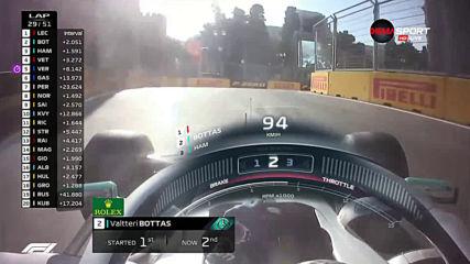 Ботас пред Хамилтън в Гран при на Азербайджан