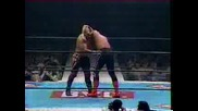 NJPW Sting And Keji Muto Vs. The Road Warriors