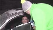Лудия репортер - Да те хванат на калъп в колата