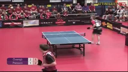Най-добрия пинг-понг удар правен някога