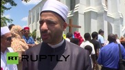 USA: Muslim community hold 'Unity Walk for Peace' for Charleston victims