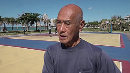 Japanese 'Michael Jordan' still sinking three-pointers at 74!