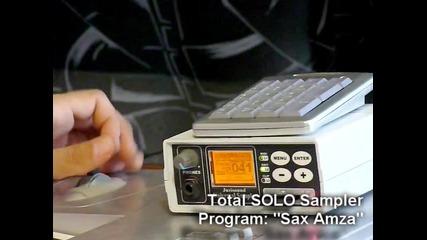 Sax Amza - Juzisound Total Solo Sampler