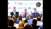 Владимир Кличко Срещу Александър Поветкин Прес Конференция Част 1