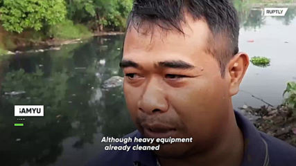 Indonesian village transformed into wasteland over trash disposal issues