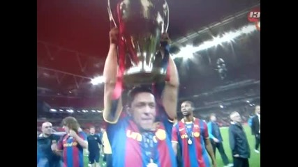 Barcelona Champion Wembley 2011 !