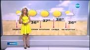 Прогноза за времето (26.07.2015 - обедна)