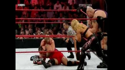 trish in raw - Trish Stratus and Mvp vs Beth Phoenix and Jericho - for Trish Rey