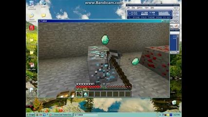minecraft-моите светове еп 7 първи диаманти част 2