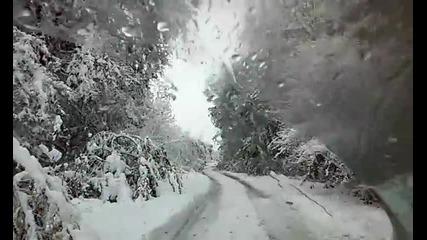 Първи сняг за тази зима