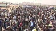 Yemen: Thousands gather for funeral of children killed in bus strike