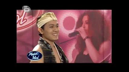 Music Idol 3 - Най - Спокойният Участник - Индонезиецът Асеп Маскар