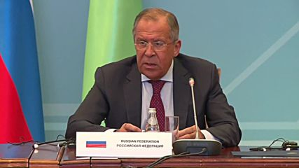 Kazakhstan: Lavrov predicts 2017 signing of Caspian Sea Convention