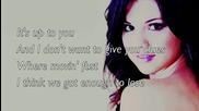 [+ текст и превод] Selena Gomez - Whiplash