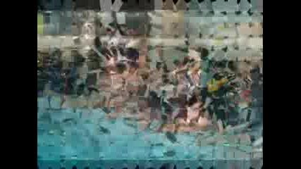 Нса - Снимки От Състезания Синхр. Плуване