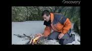 Man vs. Wild - Beach Fire