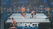 Tna Slammiversary 2011 / James Storm & Alex Shelley Vs The British Invasion [ World Tag Team Cham. ]