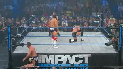 Tna Slammiversary 2011 / James Storm & Alex Shelley Vs The British Invasion [ World Tag Team Cham. ]