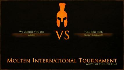 Последния мач от Molten International Tournament 2 wotlk