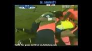 Естудиантес - Барселона 1:1 гол на Педро Родригез