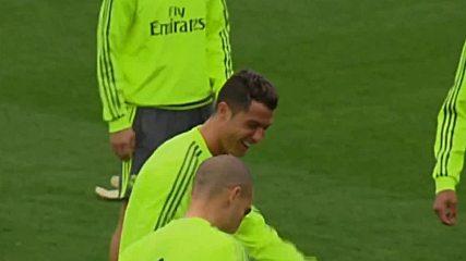Усмихнат Реал Мадрид преди сблъсъка с Виляреал