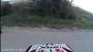 kiosowski - Yamaha Aerox stunt in Autumn