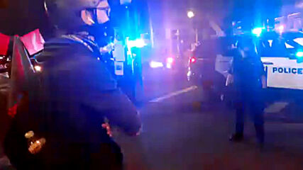 USA: Several arrests made at Portland anti-police brutality protest