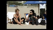 Bill & Tom On The Beach In Los Angeles