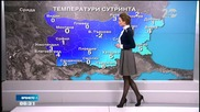 Прогноза за времето (10.12.2014 - сутрешна)