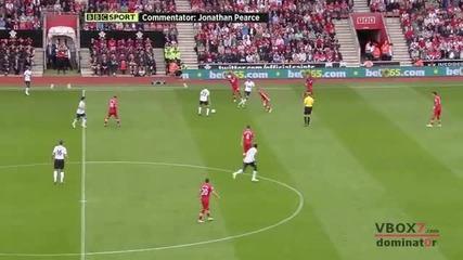 02.09.12 Саутхемптън 2 - 3 Манчестър Юнайтед - Най-доброто от мача