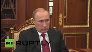 Russia: Alisher Usmanov briefs Putin on Metalloinvest and fencing