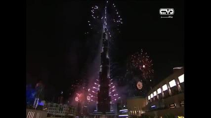 Посрещане на Нова Година в Дубай - невероятно шоу