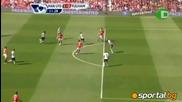 Берба с гол - Манчестър юнайтед - Фулъм 2:0