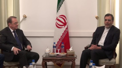 Iran: Russia's Deputy FM discusses Syria with Iranian counterpart
