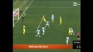 """""""Киево"""" прекъсна серията на """"Лацио"""" от 16 мача без загуба"""