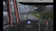 Euro Truck Simulator 2 Iveco Hi-way Driving with Ventilation Shaft