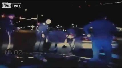 Полицаи пребиват диабетик изпаднал в диабетичен шок ,защото го мислят за пиян