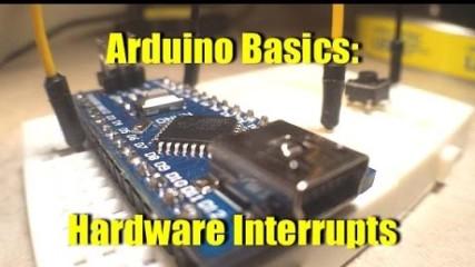 Arduino Basics Hardware Interrupt Part 1