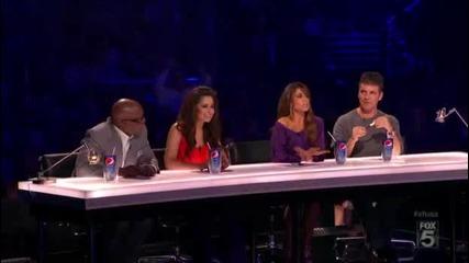 13 годишно момиче впечатлява журито в американския X Factor