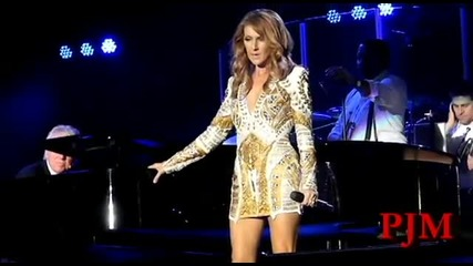 *превод* Celine Dion- All By Myself Live /2012/