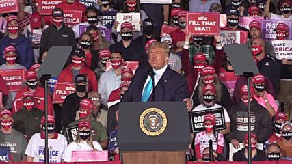 USA: Trump praises his Supreme Court nominee at Pennsylvania rally