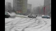 Пежо 406 Купе, тест на сняг 2