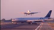 Два самолета на косъм от катастрофа