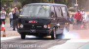 Много бърз ван - Toyota Hiace V8 turbo