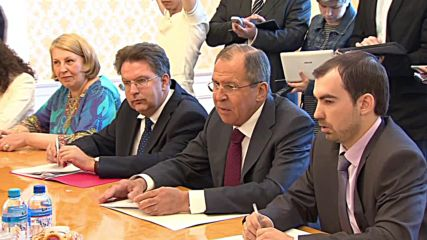 Russia: Lavrov meets 'Cuban Five' in Moscow