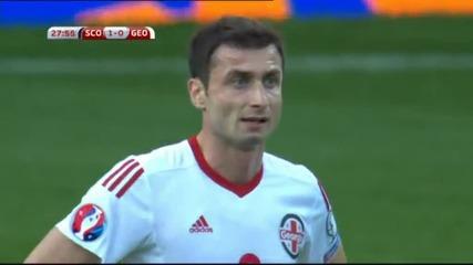 ВИДЕО: Шотландия – Грузия 1:0