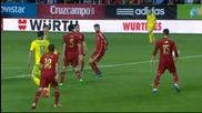 Испания 1 - 0 Украйна ( квалификация за Европейско първенство 2016 ) ( 27/03/2015 )