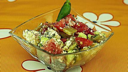 Свежа лятна салата