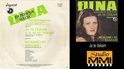 Djurdjina Djina Radic i Juzni Vetar - Ja te cekam (Audio 1981)