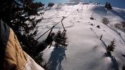3 Луди Момчета, дивеят в снега на Витоша! Скок от лифт!
